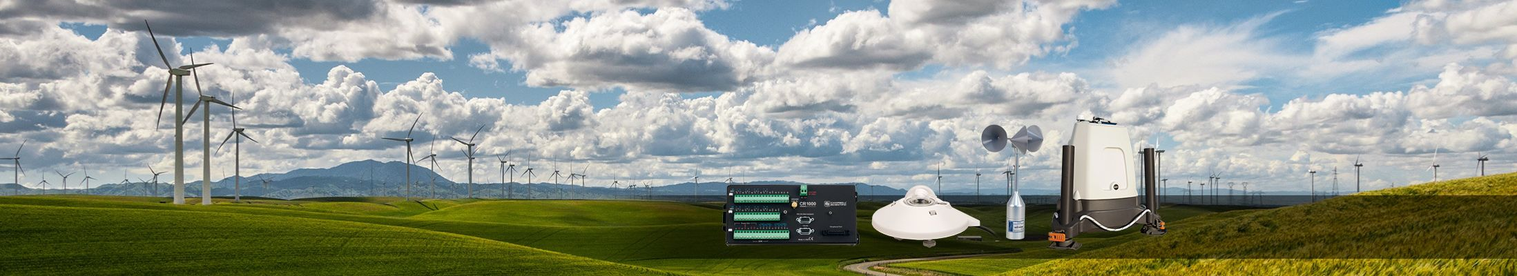 Energy High-performance solar power and wind power measurement instrumentation that just works