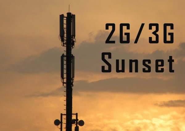 2G/3G sunset with tower