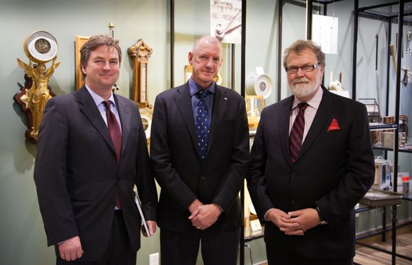 david grimes and russell white visit campbell scientific