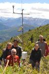 argentine : mesurer les conditions météorologiques en montagne