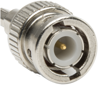 BNC male plug connector