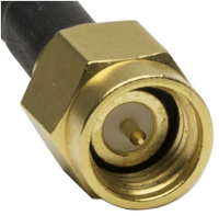SMA male plug connector