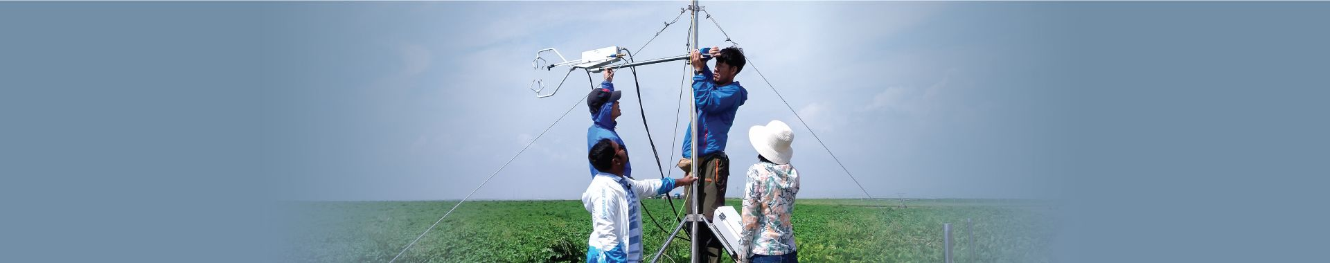 Setting up a weather station with an IRGASON