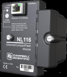Interface Ethernet et module CompactFlash NL116