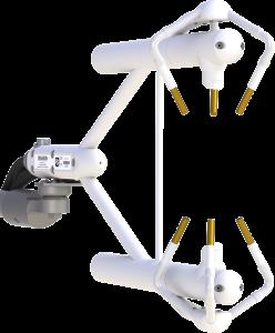 IRGASON<sup>®</sup> Intégrant un analyseur à champ ouvert de CO2 et H2O et un anémomètre sonique 3-D