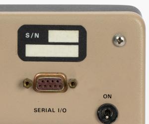 A serial I/O port