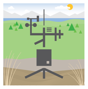 Weather station illustration for system design request