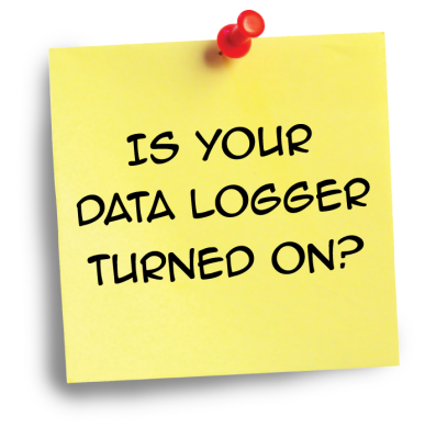 Is Your Data Logger Turned On?
