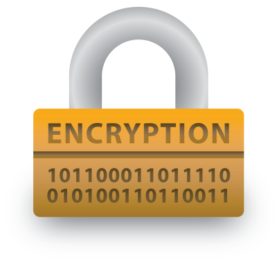 Encrypted padlock