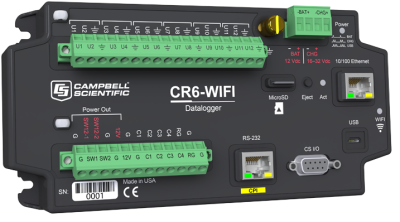 CR6-WIFI datalogger