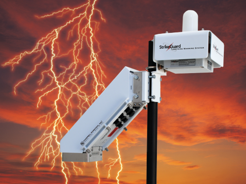 Sg000 Strike Guard Lightning Detector Campbell Update 1st Quarter