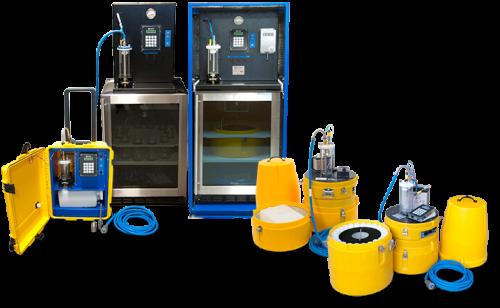 family of water samplers