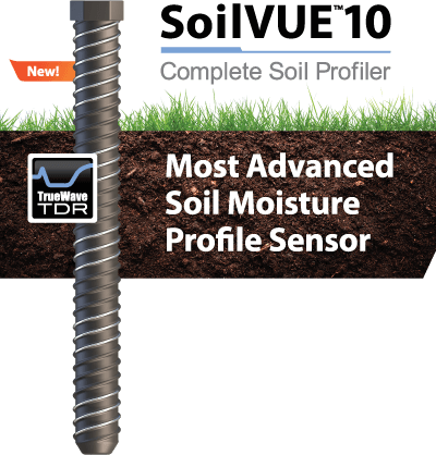 SoilVUE 10, Most Advanced Soil Moisture Profile Sensor