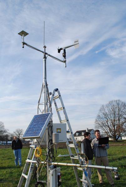 Setting up a mesonet station