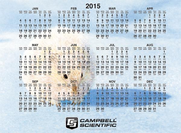 2015 julian calendar
