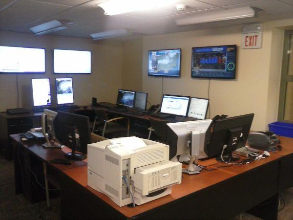 Operations Control Room, NYS Mesonet