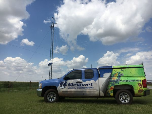 Oklahoma Mesonet truck