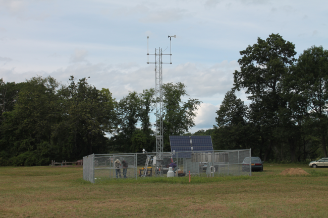 mesonet station maintenance
