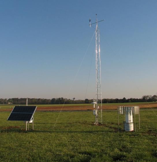 Mesonet station in Kentucky