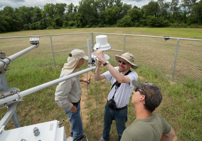 Setting up a mesonet station