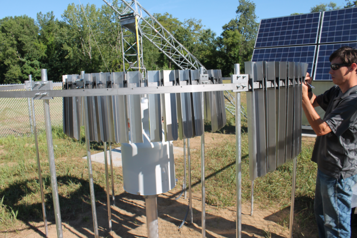 Adding a fence to a mesonet station
