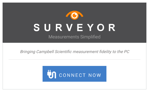 Surveyor connect screen