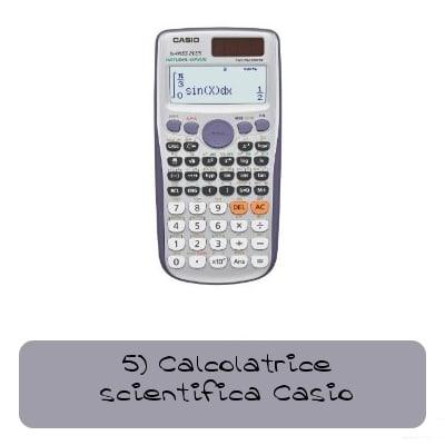 calcolatrice scientifica casio