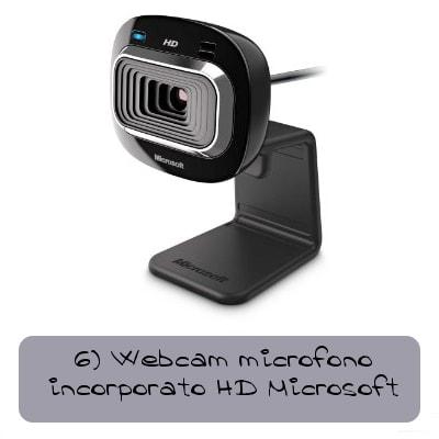webcam microfono incorporato hd microsoft