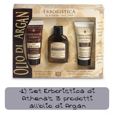 set athenas 3 prodotti allolio di argan