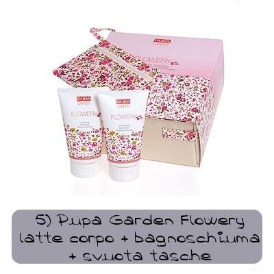 pupa garden flowery set