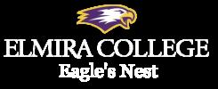 Elmira College Eagle's Nest Logo