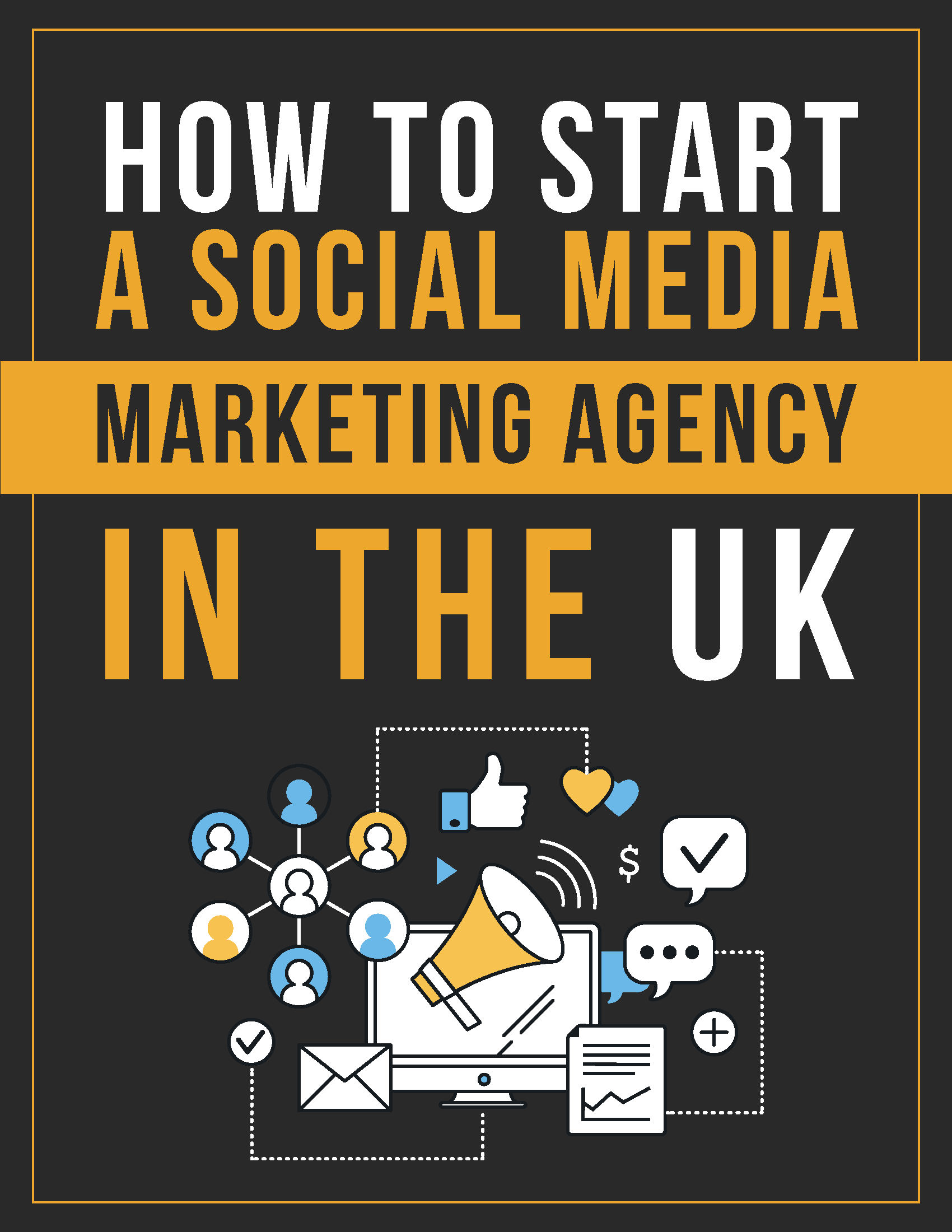 How to start a social media marketing agency ebook cover