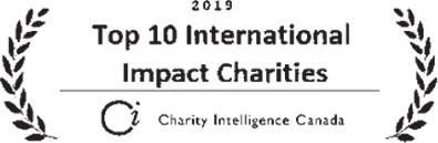 Top 10 International Impact Charities Logo