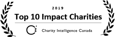 Top 10 Impact Charities Logo