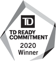 TD Ready Commitment Winner Logo