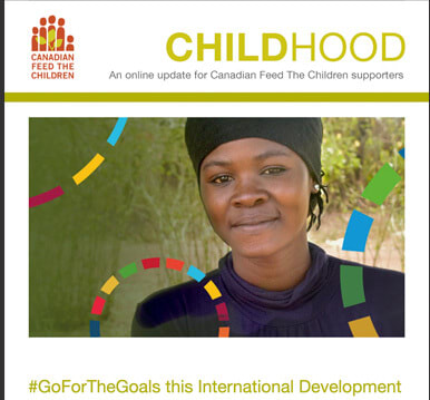 Cover of Childhood, CFTC's monthly newsletter