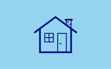 Illustration hus och fastigheter