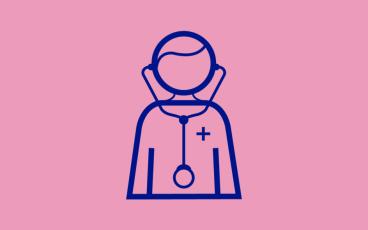 Läkare illustration medicinsk expertis