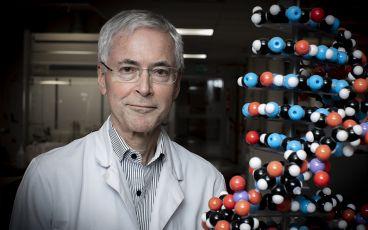 Professor Edvard Smith kände sig som en upptäcktsresande i jakten på den försvunna genen.