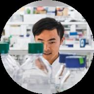Forskare i laboratorium