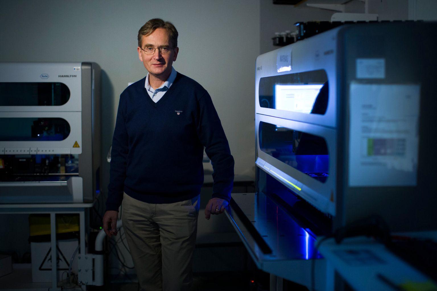 Joakim Dillner, professor i infektionsepidemiologi vid Karolinska insititutet