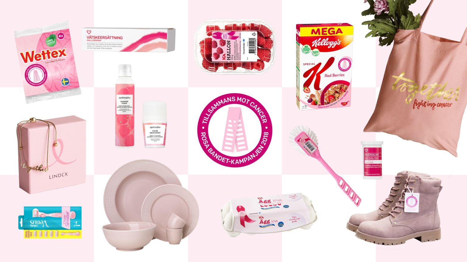 bröstcancer rosa bandet
