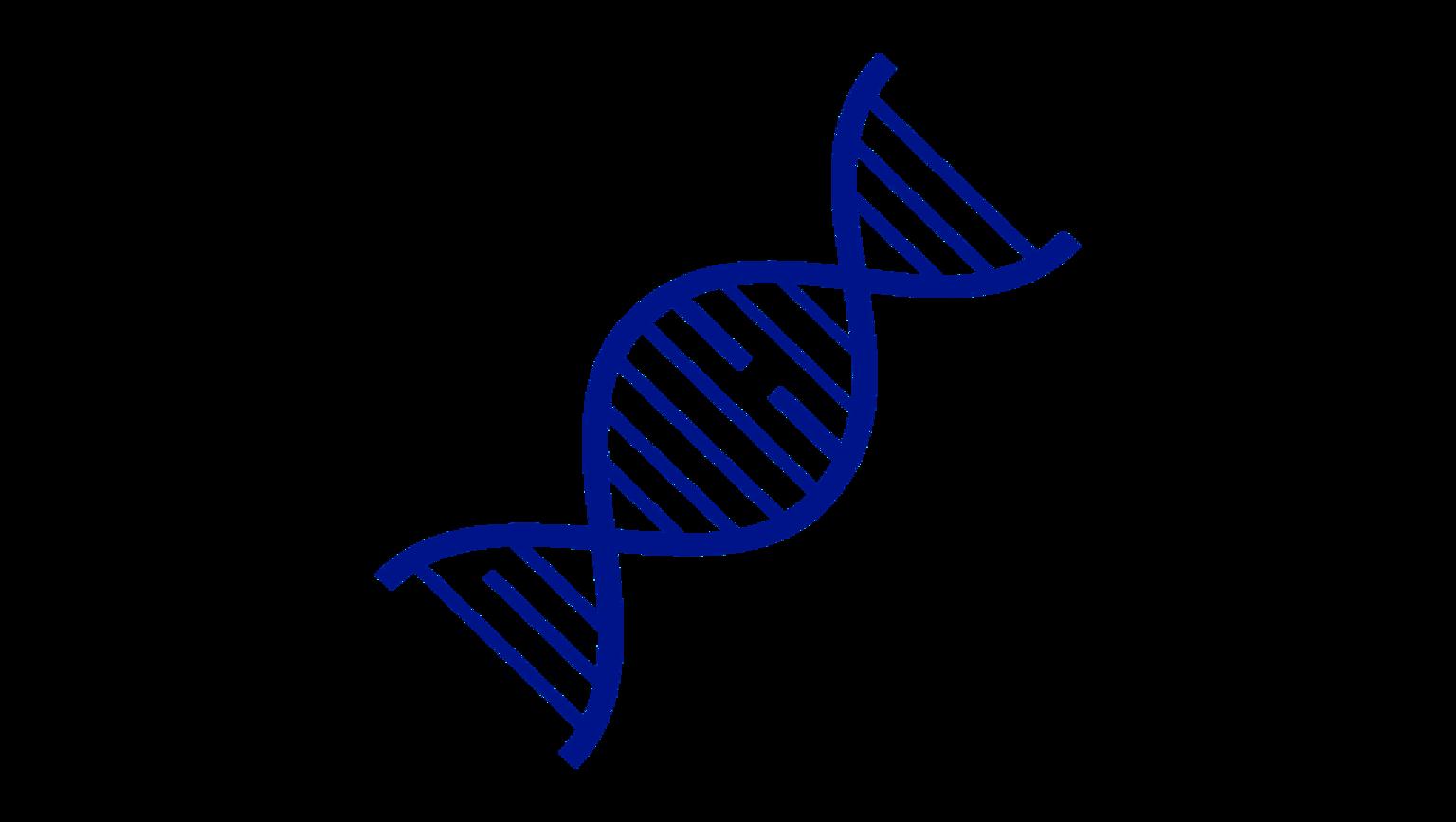 Illustration av DNA-sträng