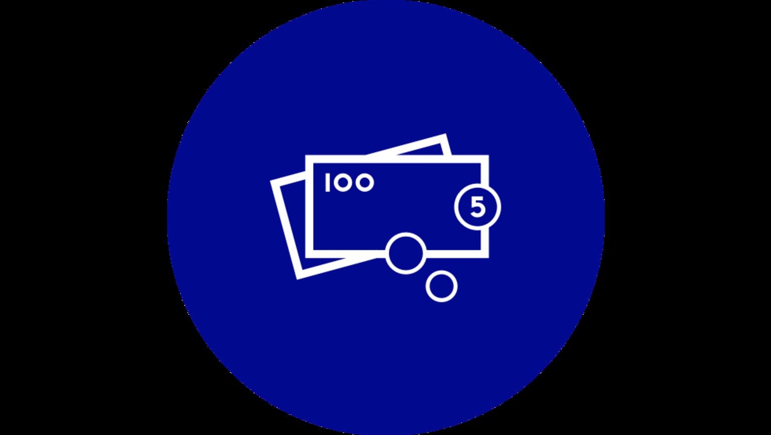 En illustration av pengar