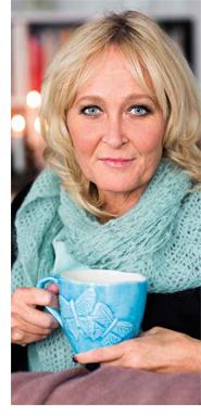 Pamela lever med en hjärntumör: Träningen och livsglädjen