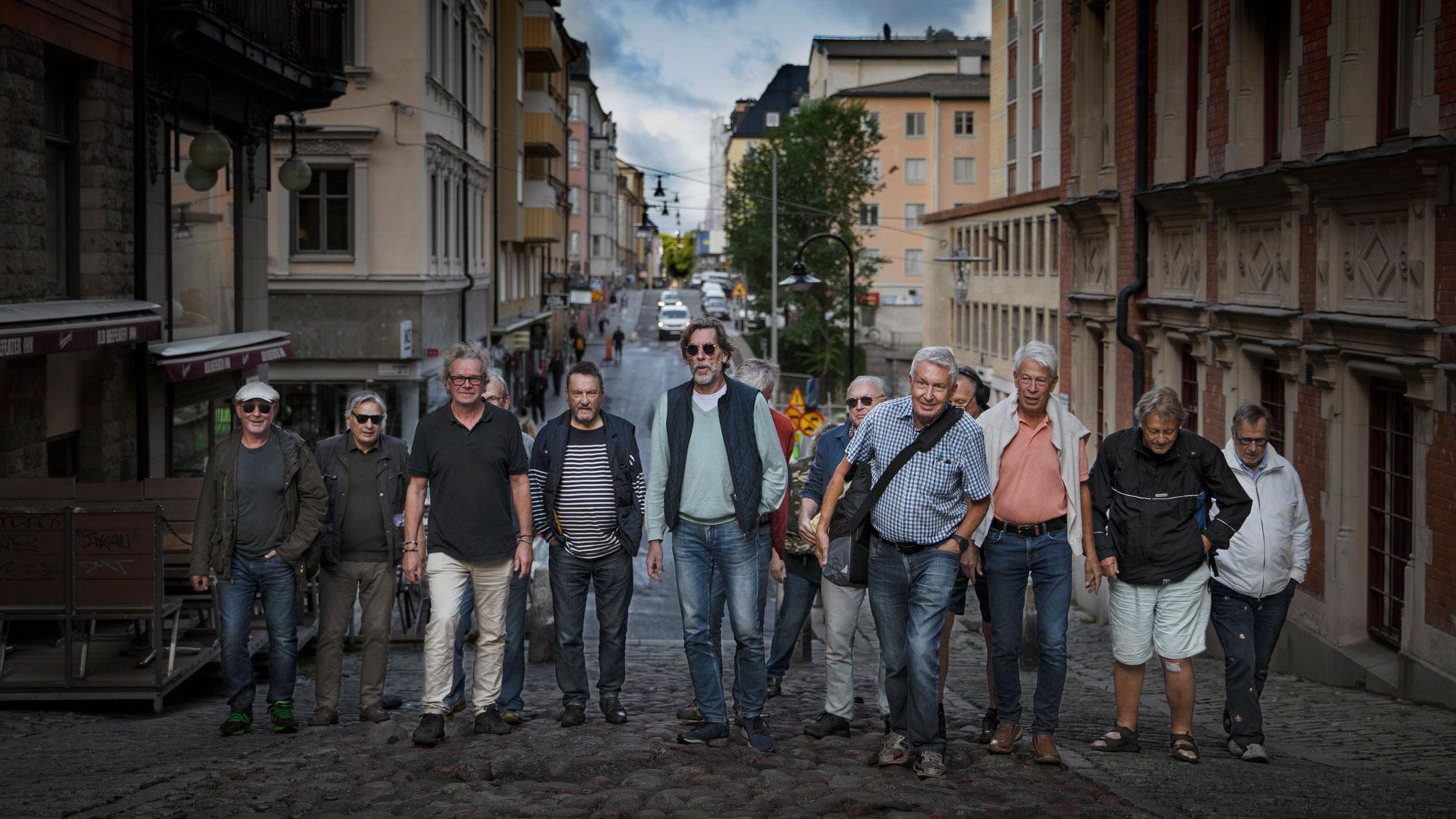 Gänget bakom Promenera Mera går uppför Södermalms backar.