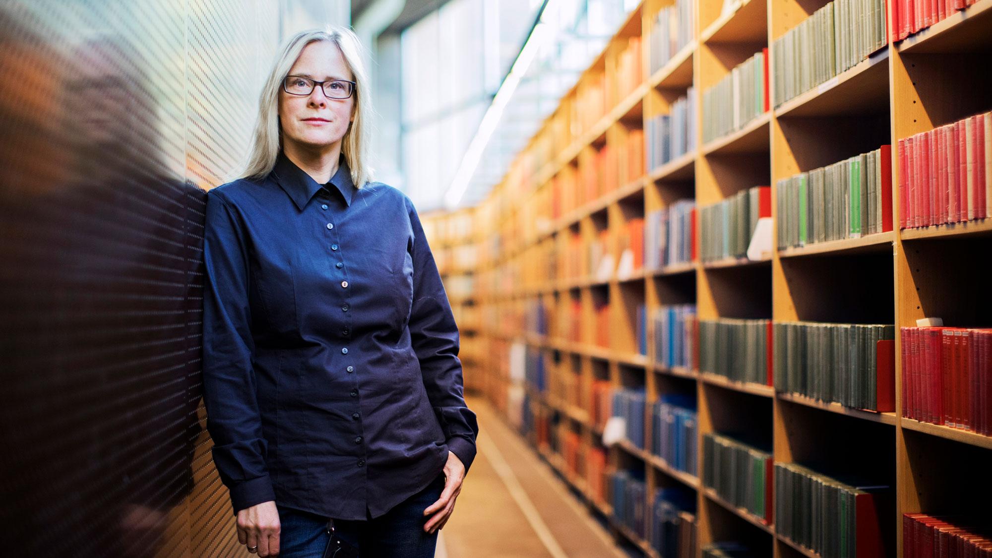 Marika Nestor, docent i medicinsk strålningsvetenskap vid Rudbecklaboratoriet i Uppsala