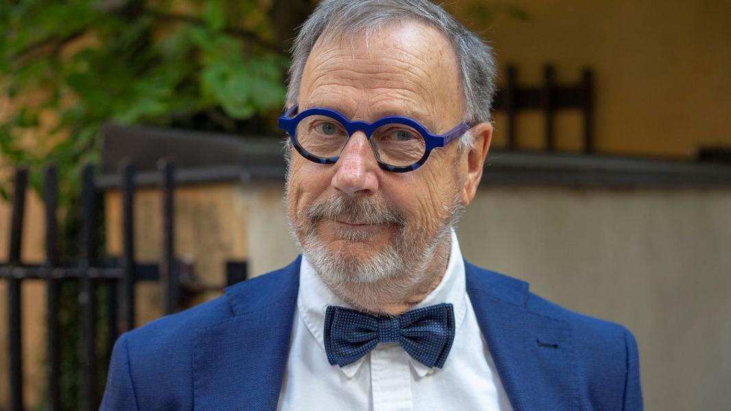 Journalisten, programledaren och skådespelaren Sven Melander
