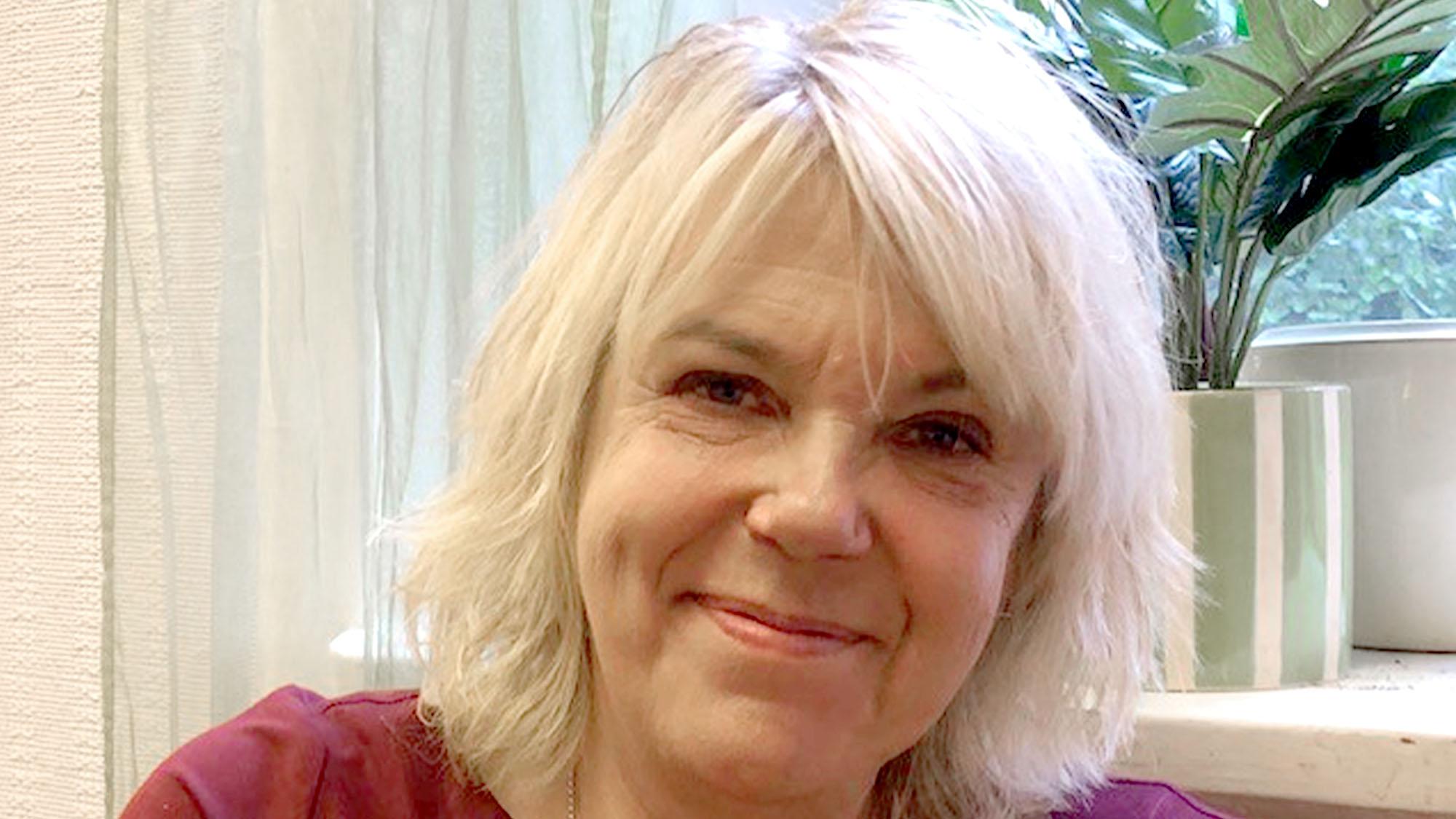 En porträttbild på terapeuten Görel Fred