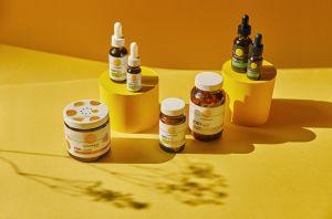 Selection of CBD Products by Cannaray CBD
